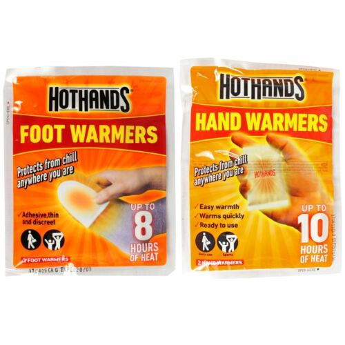 HOT mains Hand Warmers & pied Warmers Heat Warming Hothands Outdoors workcamping