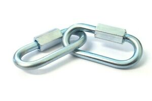 """Lock fastener Carabine 1//8/"""" -/> 3//8 Inches Chain link Quick link Extend screw"""
