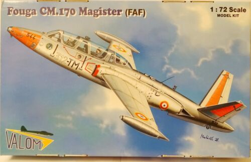Fouga cm.170 Master's Degree, 172, VALOM , & Version, NEW