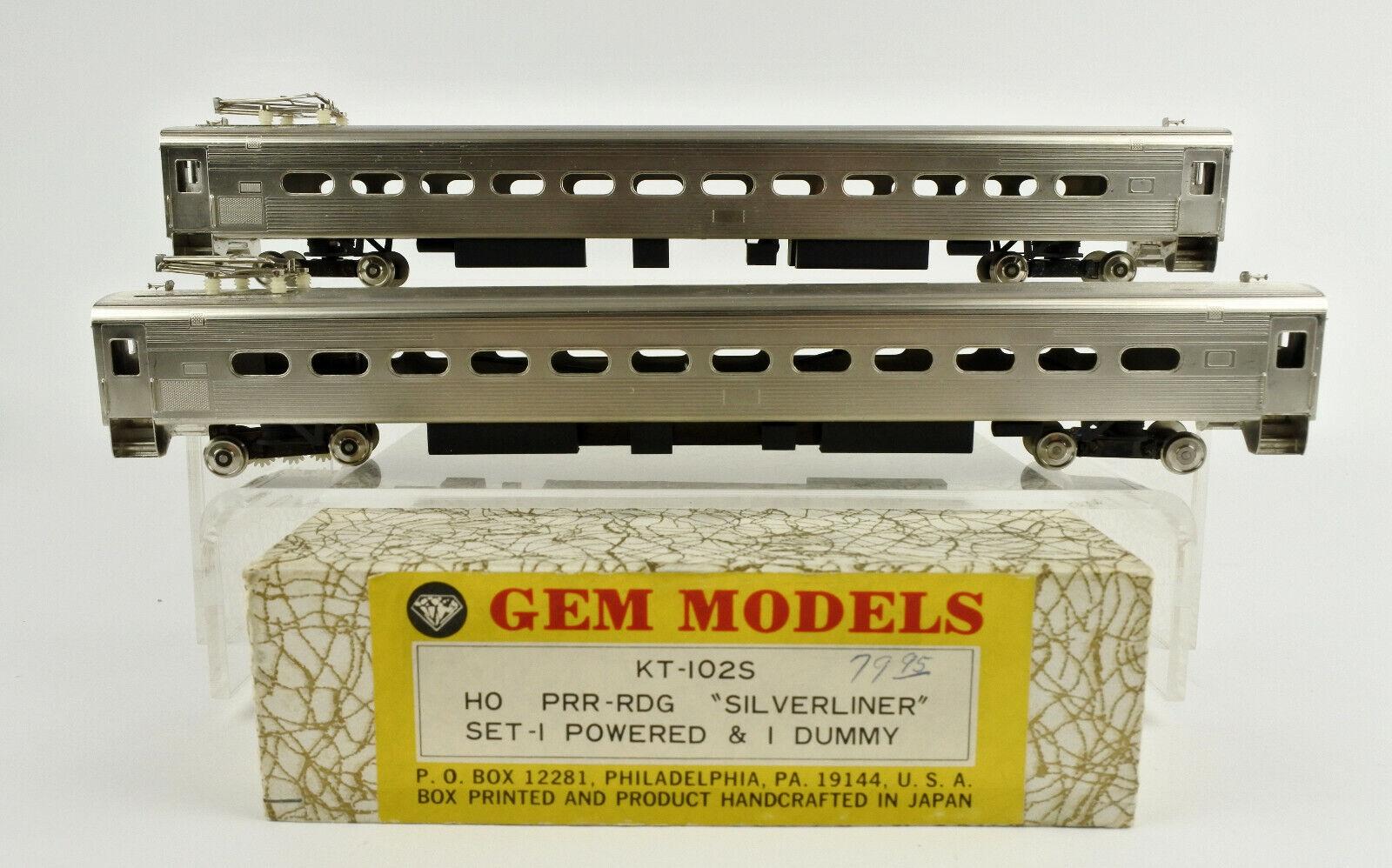 GEM modellololi scala HO KT102S PRRRDG argenstrumentoiner energiaosso & Dummy Set