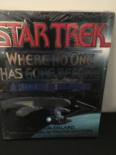 1 of 1 - Star Trek : Where No One Has Gone Before - A History in Pictures by J. M....