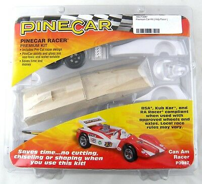 Pinecar P370 Pinewood Pinecar Derby Basic Car Kit