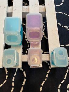 LOCK & LOCK Dosen Vorratsgefäße Vorratsdosen verschiedene Farben 2,5 L 850 ml