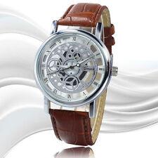 Luxury Men's Skeleton Stainless Steel Watch - Transparent Hollow Wrist Watch