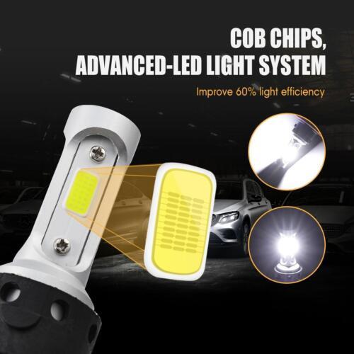 H13 LED Headlight+H10 Fog Lights for Nissan Sentra 2004-2012 Chevy Cruze 11-15