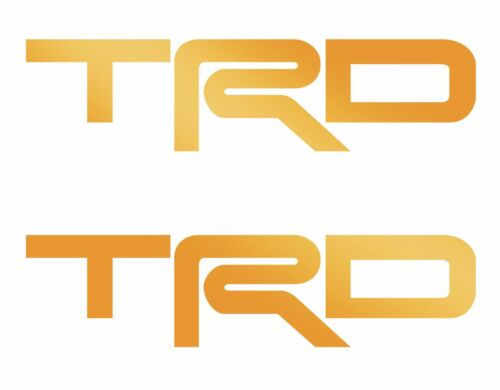 2 TRD Toyota Truck Sport Off Road Racing Tacoma Tundra Decal Vinyl Decals 12x3