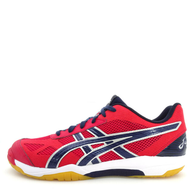 d11b9251b1bc Asics Rote Japan Light  TVR490-2358  Volleyball Badminton Shoes Red Navy