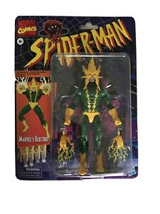 Marvel-Legends-Spider-Man-Wave-Series-Retro-Vintage-Electro-New-In-Stock-In-Hand