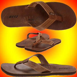 57ae12ff8e13 Image is loading NEW-MENS-REEF-DRAFTSMEN-Sandals-Flip-Flops-BRONZE-
