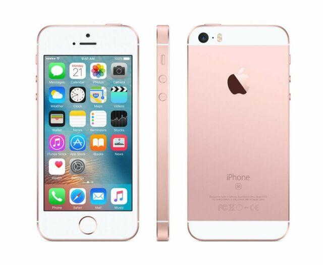 APPLE IPHONE SE 64GB ROSE GOLD OHNE SIMLOCK ohne Vertrag