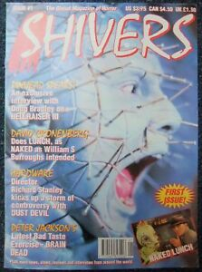 Shivers Issue 1 – David Cronenberg, Peter Jackson, Hellraiser