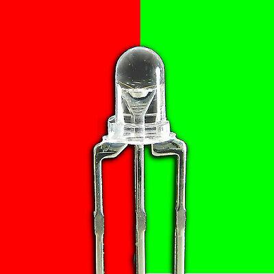LED bicouleur 3mm bleu, vert, orange , rouge , blanc,  cathode commune