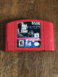 NBA-Jam-2000-Nintendo-64-N64-Basketball-Game-Cart-Authentic-TESTED-Works-Great