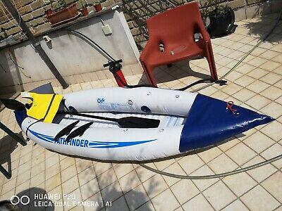 Intex 68305 Canoa Challenger K1 Cm 274X76X33