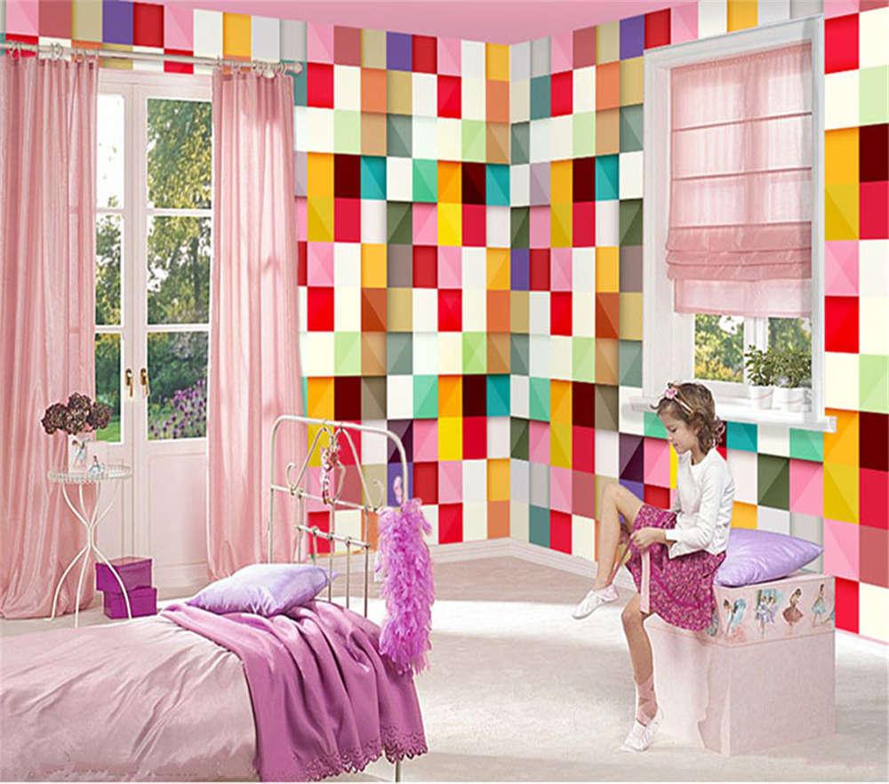 Raffle Nice Square 3D Full Wall Mural Photo Wallpaper Printing Home Kids Decor
