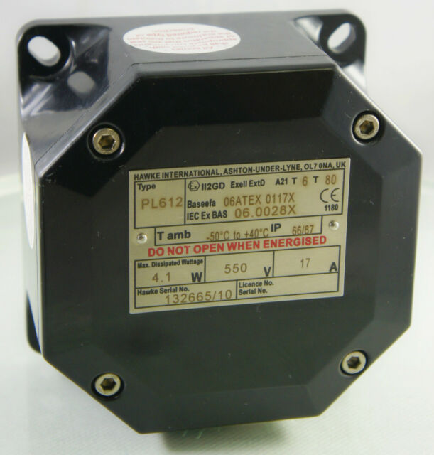 Hawke PL612 ATEX Explosion Safety Junction Enclosure