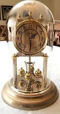 Vintage Swiss Angelus Company Anniversary Pendulum Clock keeps excellent time