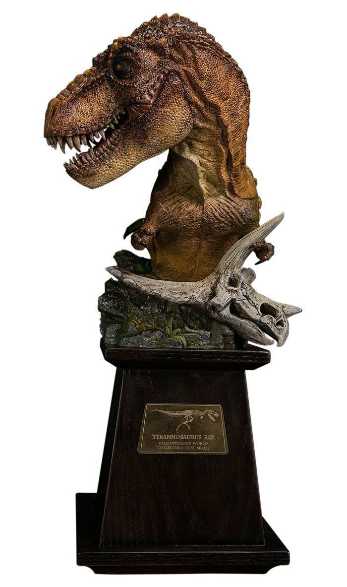 Dam Toys Museum Collection Series Dinosaur MUS001A MUS001A MUS001A Statue T-Rex Bust New 78799a