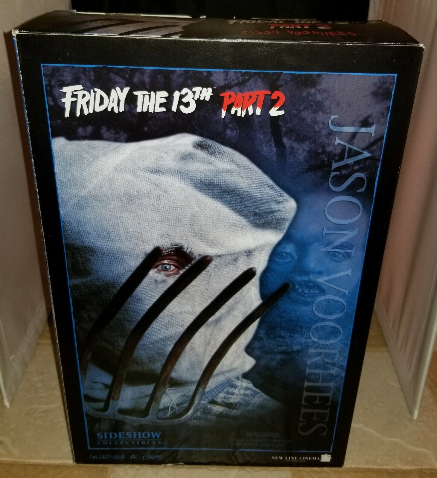 """SIDESHOW JASON VOORHEES FRIDAY THE 13th PART 2 12"""" INCH 1:6 SCALE FIGURE NEW on eBay thumbnail"""