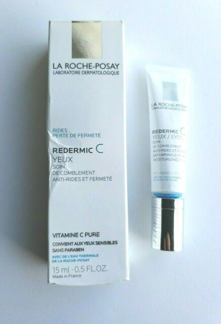 LA ROCHE-POSAY Redermic C EYES Anti-Wrinkle Firming .5oz EXP