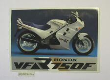 ADESIVO MOTO ORIGINALE / Original Sticker HONDA VFR 750F (cm 13 x 10)
