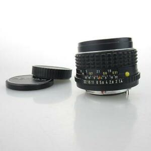 Fuer-Pentax-K-PK-Asahi-Pentax-M-SMC-1-1-4-50mm-Objektiv-lens-caps