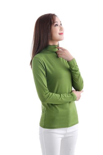 Ladies Moda//Net Undershirt Muslim T Shirt Islamic Women/'s Long Sleeve Top Blouse