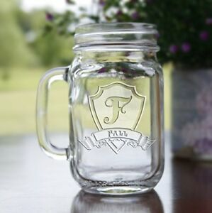 engraved mason jar mugs personalized wedding gift ideas set of 4