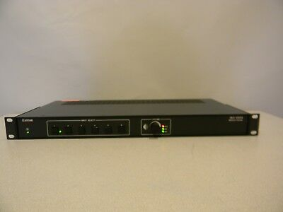 Extron Six Input Switcher with Stereo Audio Amplifier Model: MLS 406SA
