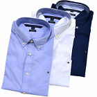 Tommy Hilfiger Buttondown Shirt Mens Long Sleeve Custom Fit Casual Collared