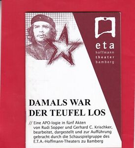 """Bamberg - ETA-Hoffmann-Theater - """"Damals war der Teufel los"""" - Programmheft2008"""
