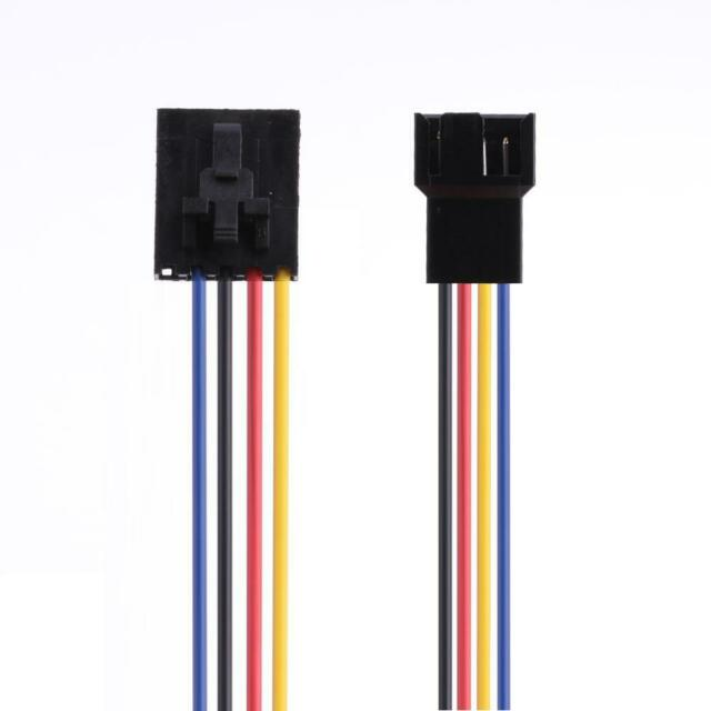 PERIF to 2 x Molex Ends Plugs Modular Power Cable for EVGA BQ series.