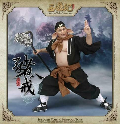 1 6 un attise Toys Journey to the West Zhu Bajie cochon IFT-011 Action Figure Gift