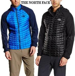 01b370c469a6 NEW MEN'S THE NORTH FACE THERMOBALL HYBRID HOODIE JACKET! QUILTED ...