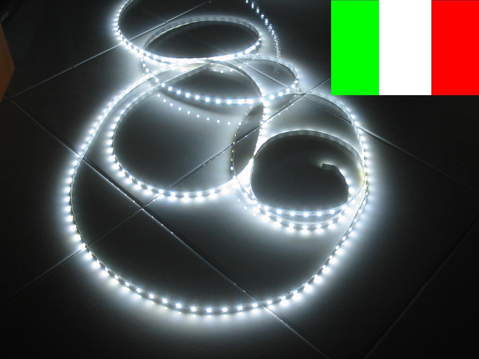 colorways incredibili STRISCIA STRINGA LED 5m ADESIVA  BIANCO FREDDO + ALIM ALIM ALIM  prodotto di qualità
