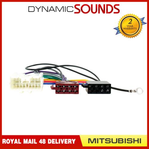 PC2-46-4 Autoradio Harnais Câblage Adaptateur Iso Câble Câble pour Mitsubishi