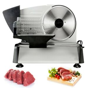 Electric-Meat-Food-Slicer-Deli-Commercial-Food-Cheese-Restaurant-Cutter-Blade
