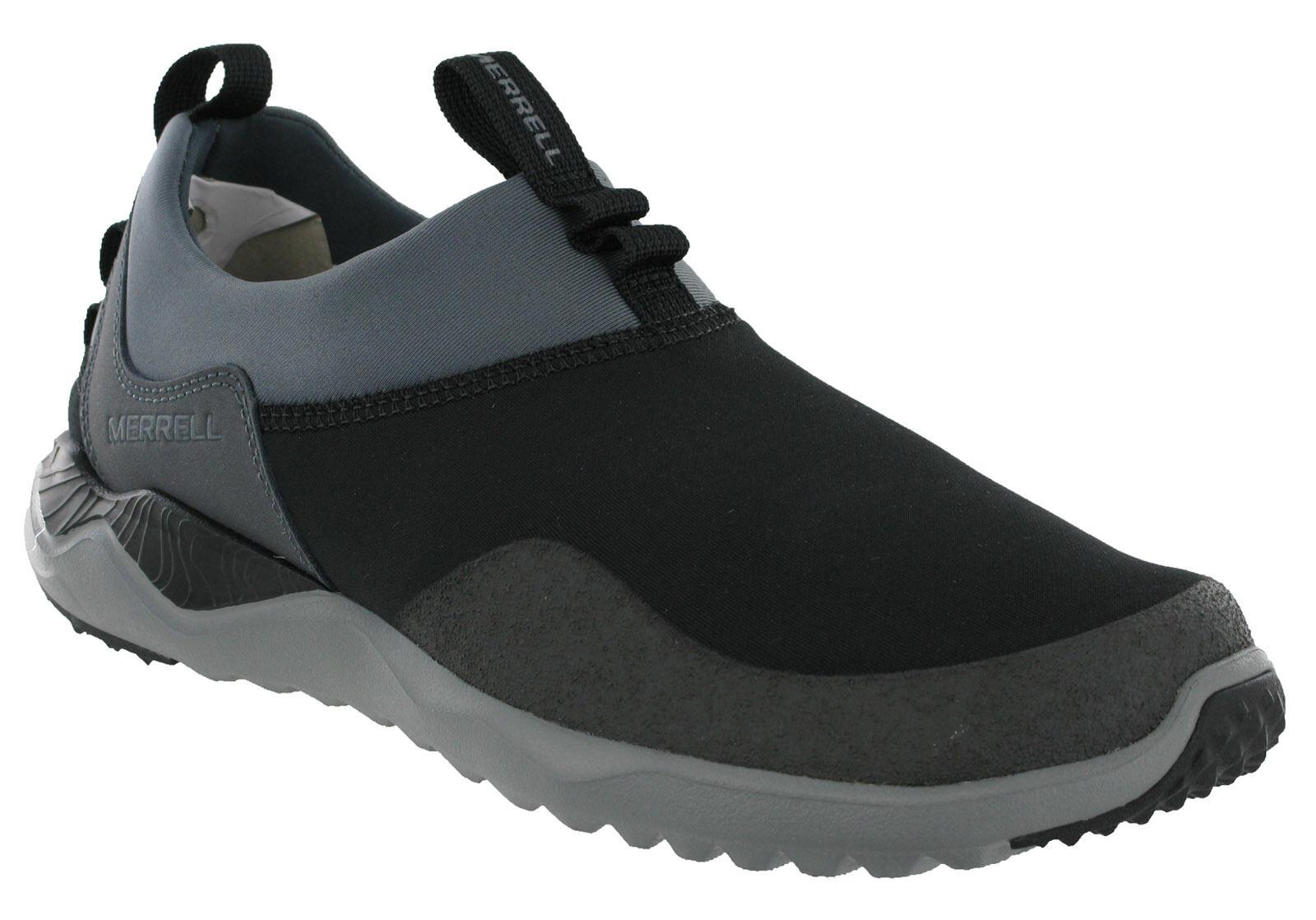 Merrell Mocasines 1SIX8  para Hombre de Cuero Suave Tela M-seleccionar Plana Zapatillas Zapatos  primera vez respuesta
