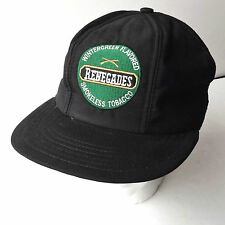 Vintage Renegades Smokeless Chewing Tobacco Snapback Hat Baseball Cap Mesh Back