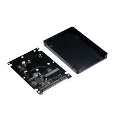 """mSATA to 2.5/"""" 44PIN IDE HDD mSATA to PATA Converter Adapter Case Included T3V9"""