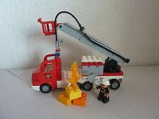 LEGO Duplo Feuerwehrlöschzug - Feuerwehr Set 5682 mit Sound - TOP!