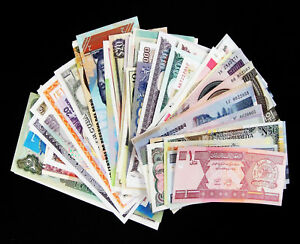 Lot-10pcs-Bundle-All-Different-Asian-Countries-Asia-Currency-World-Banknotes-UNC