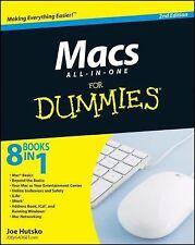 Macs All-in-One For Dummies Hutsko, Joe Paperback
