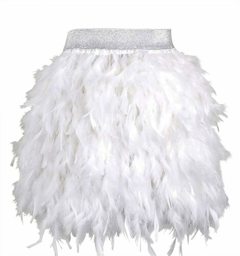 ZAKIA Women's Skirt Real Natural Feather Feather S