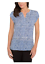 NEW-Hilary-Radley-Women-Printed-Short-Sleeve-Blouse-VARIETY thumbnail 3