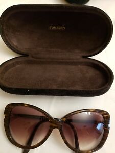 6b117a3df79a0 Tom Ford Butterfly TF 324 50F Linda Interlaced Brown   Brown ...