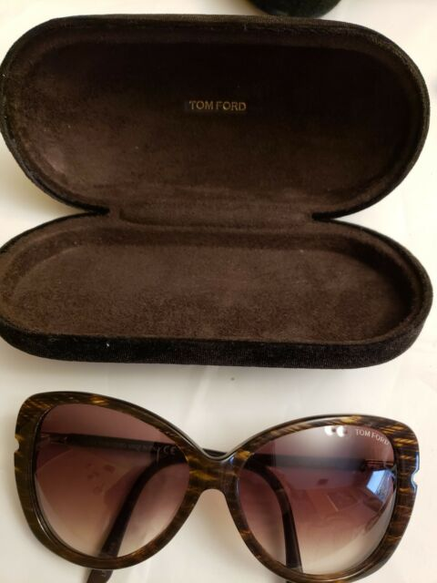 099d6b0eb62 Tom Ford Butterfly TF 324 50F Linda Interlaced Brown   Brown Gradient  Sunglasses