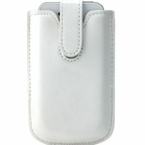 ETUI-POUCH-UNIVERSEL-POUCH-UP-BLANC-POUR-iPHONE-3-amp-4-iPOD-TOUCH-ECO-CUIR-PU