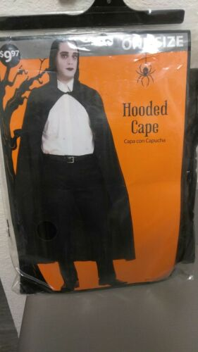 ADULT SIZE REAPER HOODED CAPE Halloween Costume
