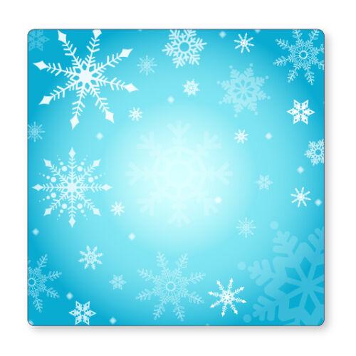2x SNOWFLAKE//WINTER LIVING ROOM BEDROOM NURSERY DECOR UK LIGHT SWITCH STICKERS